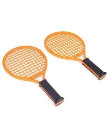 Speedage Grand Slam Racket Set - Dark Orange