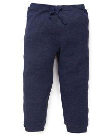 Fox Baby Full Length Track Pant - Navy Blue