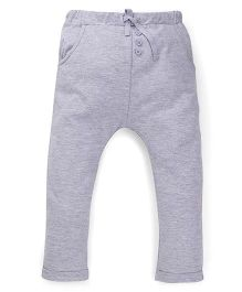 Fox Baby Full Length Track Pant - Grey