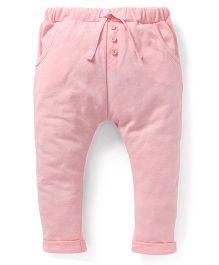 Fox Baby Full Length Track Pant - Pink