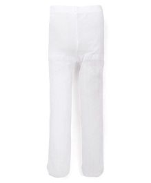 Fox Baby Plain Tights - White