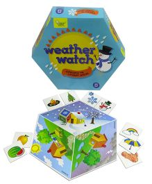 Clever Cubes Weather Watch Board Game