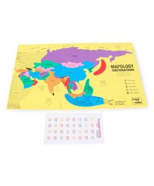 Imagi Make Mapology Destination Asia Orange - 30 Pieces