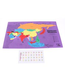 Imagi Make Mapology Destination Asia Red - 30 Pieces