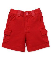 Spark Multi Pocket Shorts - Red