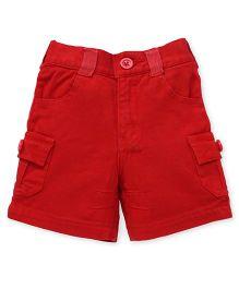 Spark Multi Pocket Shorts - Red