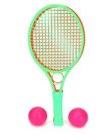 Mansaji Racket Set - Orange  Green