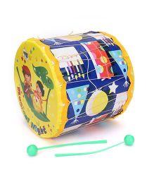 Mansaji Rock Toy Drum Set - Yellow Blue