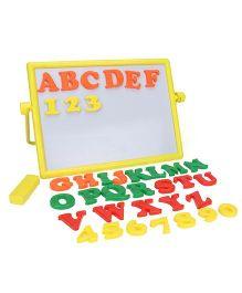 Mansaji Alpha Numero Board- Yellow