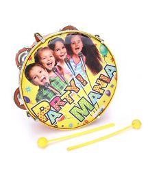 Mansaji Toy Dafli With Sticks -  Yellow