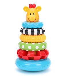 ELC Sensory Stack Ring - Multi Color