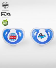Babyhug Pacifier With Cover Pack Of 2 - Blue