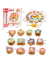 Emob Number Building Blocks And  Clock Educational Game