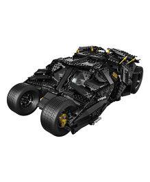 Emob Super Heroes DIY Bat Tank Block Set with 2 Mini figures - 325 Pieces