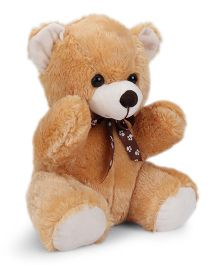Dimpy Stuff Medium Teddy Bear Soft Toy Light Brown - 32 cm