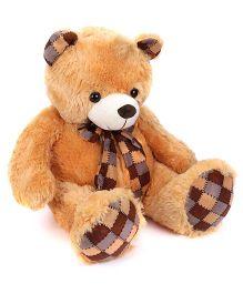 Dimpy Stuff Teddy Bear Light Brown - 80 cm