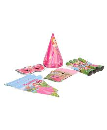 Themez Only Princess Birthday Party Combo Set Pack of 6 - Multicolour