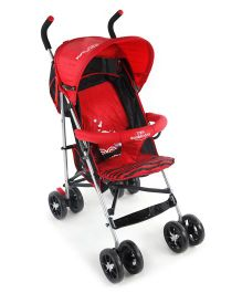 Lightweight Stroller With Mosquito Net - Red