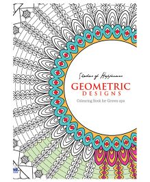 Coloring Books for Grown Ups Geometric Designs - English