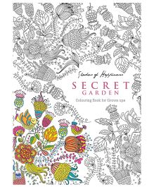 Coloring Book for Grown Ups Secret Garden - English