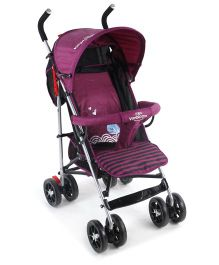 Lightweight Stroller With Mosquito Net - Purple