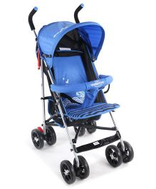 Lightweight Stroller With Mosquito Net - Blue