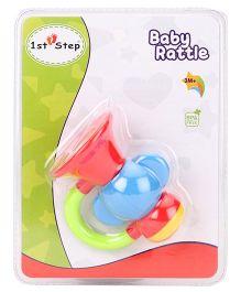 1st Step Trumpet Rattle- Multicolor