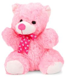 Dimpy Stuff Teddy Bear Soft Toy Pink - 37 cm
