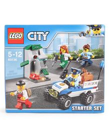 Lego City Police Starter Building Set - 80 Pieces