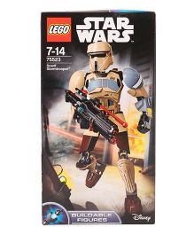 Lego Star Wars Scarif Stormtrooper Building Figure - 89 Pieces