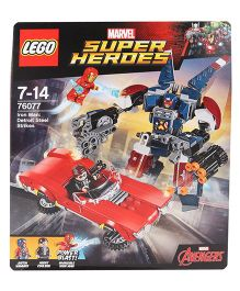 Lego Marvel Super Heroes Iron Man Detroit Steel Strikes Construction Set