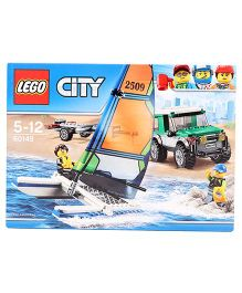 Lego City Catamaran Building Toy - 198 Pieces