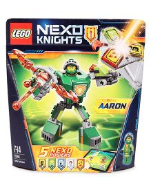 Lego Nexo Knights Battle Suit Aaron - Green