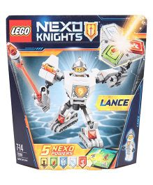 Lego Battle Suit Lance - Silver