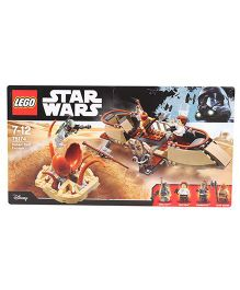 Lego Star Wars Desert Skiff Escape - Brown Cream