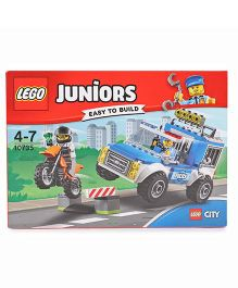 Lego Police Truck Chase Multi Color - 90 Pieces