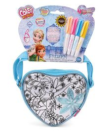 Disney Frozen Color Me Mine Heart Sequin Bag Edition - Blue