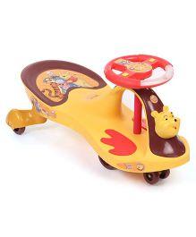 Toyzone Winnie the Pooh Magic Twister Car 51343 - Yellow