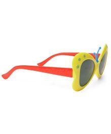 Babyhug UV 400 Kids Sunglasses - Yellow Red