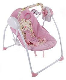 Baby Primi Portable Swing Floral Print - Pink