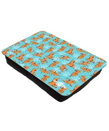The Crazy Me My Pet My Best Friend Printed Lap Tray - Light Blue