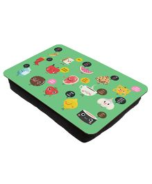 The Crazy Me Breakfast Printed Lap Tray - Light Green