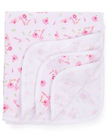 Simply Wrapper Animal Print - White Pink
