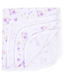 Simply Wrapper Animal Print - White Purple