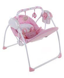 Baby Prim Swing Floral Print - Pink