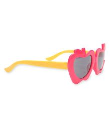 Babyhug UV 400 Kids Sunglasses - Pink Yellow