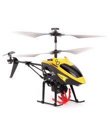Modelart Remote Controlled 4.5 Channel Helicopter With Lifting Winch - Yellow