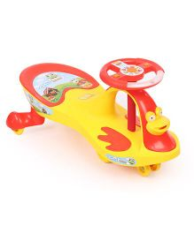 Toyzone Magic Car Deluxe - Yellow Red