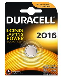 Duracell Specialty Type 2016 Lithium Coin Battery - Pack of 1