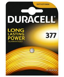 Duracell Specialty Type 377 Silver Oxide Battery - Pack of 1